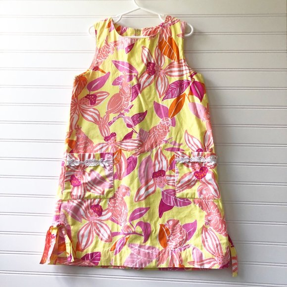 Lilly Pulitzer Pacific Wing Shift Dress